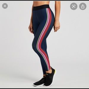 ✨NWT SOULCYCLE X ULTRACOR STRIPED LEGGINGS✨
